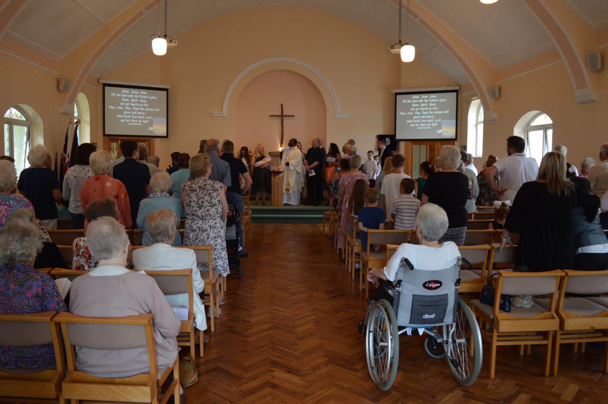 Benfleet Methodist Baptism